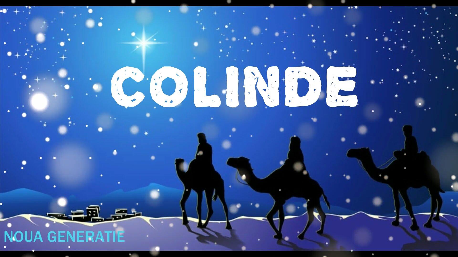 COLINDE DE NASTEREA DOMNULUI – COLAJ COLINDE CRESTINE