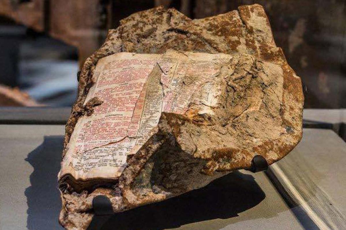 Biblia găsită în infern