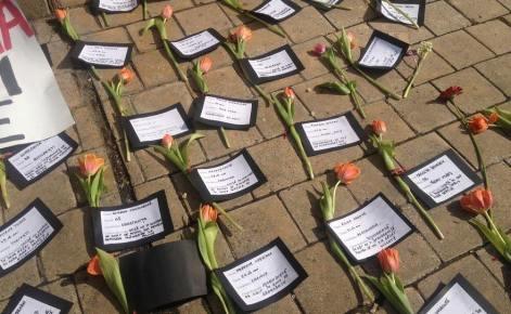 """Tony Berbece: O floare și pentru femeile ucise de """"iubiți"""""""