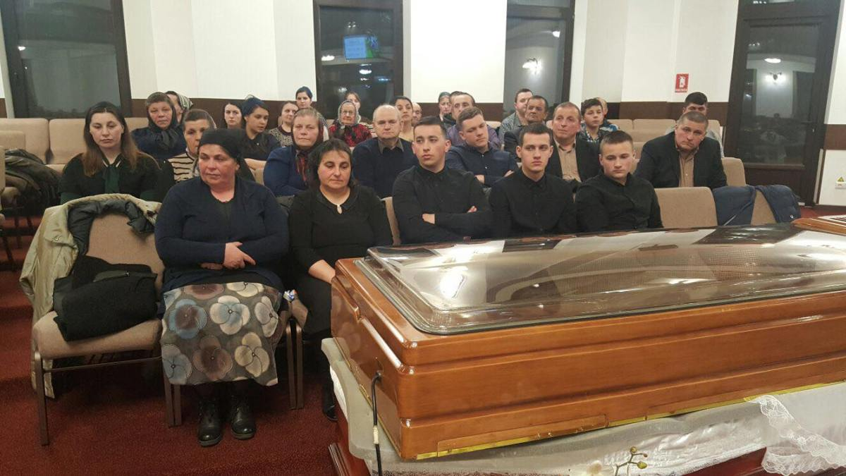 ACUM LIFE VIDEO: Înmormântare Benone Schipor 21.03.2018