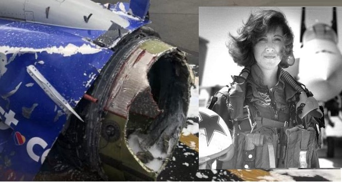 O femeie crestina eroina, a reușit să aducă de urgență la sol avionul al cărui motor a explodat în timpul zborului. Avea 149 de pasageri!