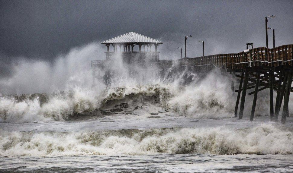 Uraganul Florence evacuează milioane de oameni!