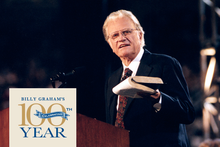 100 years / Billy Graham
