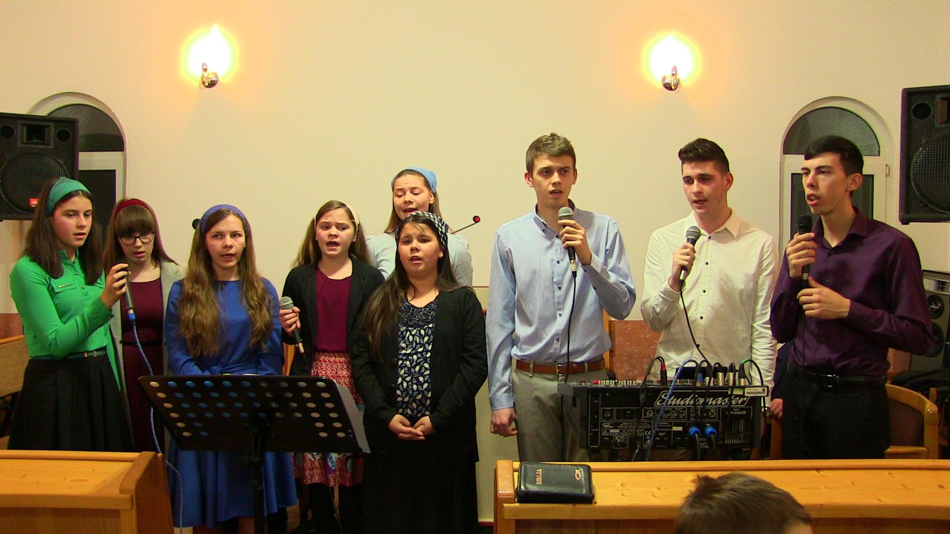 Grup tineri din Uriu: Mi-așa de dor, Isuse, după Tine