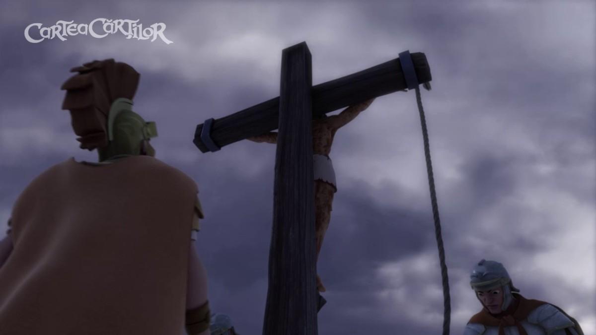 RĂSTIGNIREA LUI ISUS - desene animate creștine