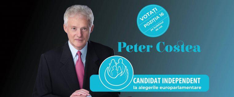 De ce votez Peter Costea la alegerile europarlamentare?!
