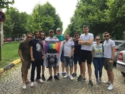 Tânărul dat afară de la serviciu pentru că anunțase pe Internet că va participa la Marșul Normalității s-a ținut de cuvânt