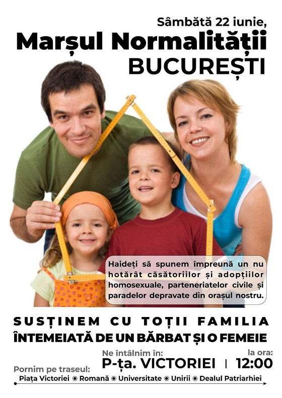 Un nou asalt urban LGBT: Începe Săptămâna Diversităţii la Bucureşti 🔴 Desigur, evanghelicii dorm însă ortodocşii vor ieşi în stradă…